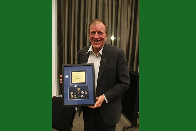 Barry McColl acknowledged for his contribution to school sport in Australia