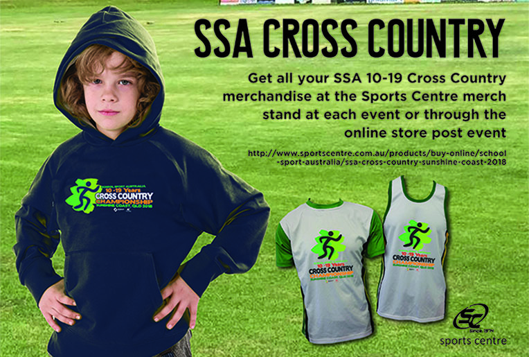 2018 Cross Country Championship Merchandise