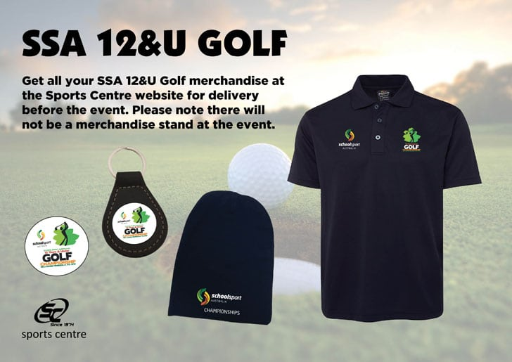 2018 12 Years & Under Golf Championship Merchandise Available
