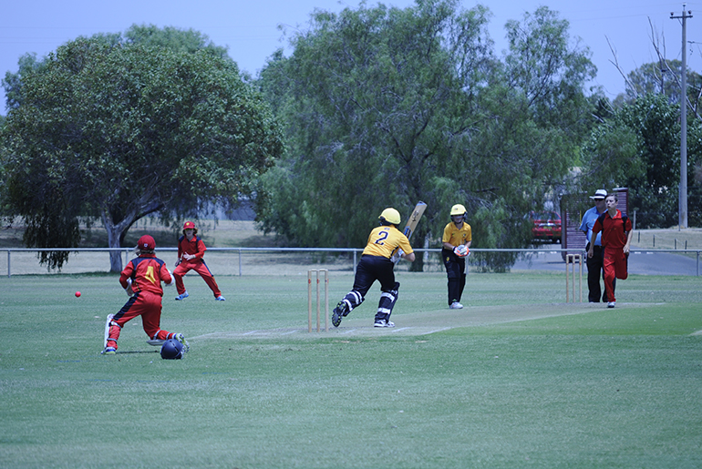 Live Scoring for the 12 Years & Under Cricket Championship