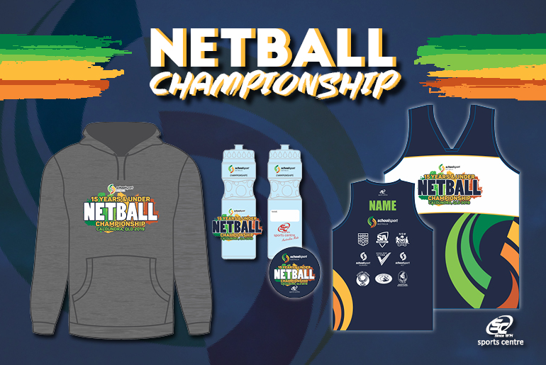 15 Years and Under Netball Championship Merchandise